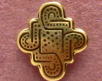 Kells Scrollwork - Shank Button - B594