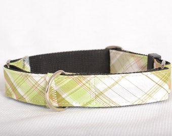 Laser Engraved Martingale Dog Collar,Fabric 04