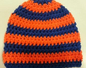 Crochet Baby Hat, Baby Boy Hat, Baby Boy Beanie, Baby Newborn Hat, Newborn Prop, Newborn Baby Hat, Baby Boy, Sizes Newborn - 12 months