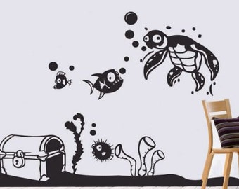 Under Water World Wall Decal
