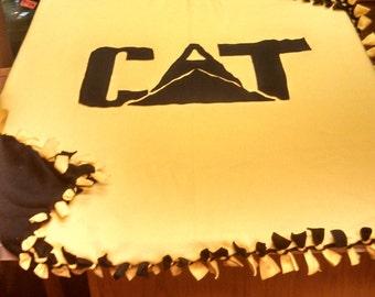 CAT fleece tie blanket SALE!!!!!!!