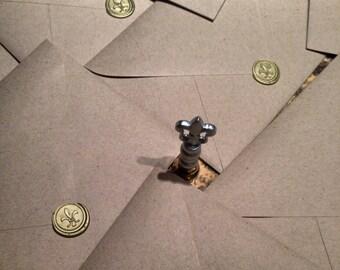 Envelope wax sealing