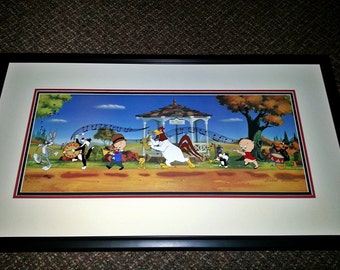 "Looney Tunes Animation Cel - ""Strike Up the Band"" - #373/750 - with official Warner Bros. COA - Free Shipping"