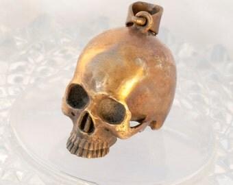 Brass skull Pendant