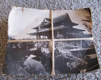On Sale! Vintage Japanese Wood Block with the Print UKIYO-E