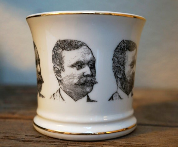 Mustaches Mug Mustache Mug Vintage Coffee