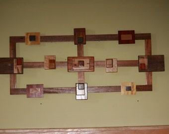 Wooden Art Sculpture, Wall art,  Decorative hanging, Art, Wall Decor, Unique wall decor