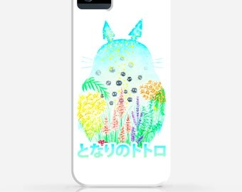 My Neighbor Totoro Watercolor iPhone 6 Case iPhone 6 Plus Case iPhone 5 Case iPhone 5c Case iPhone 4 Case Galaxy s5 Case iPhone Hard Case