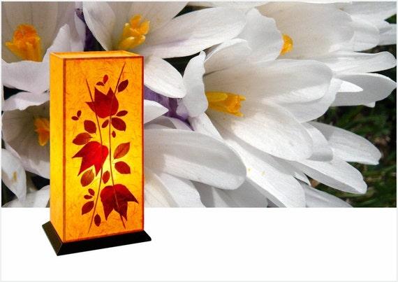 lampe de chevet rachid ambiant tableau fait main orange ou. Black Bedroom Furniture Sets. Home Design Ideas