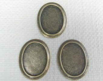 25x18 Setting (1) Oval Findings 4-102-GO