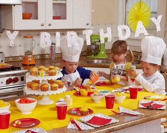Little Chef's Birthday Party - Complete Package