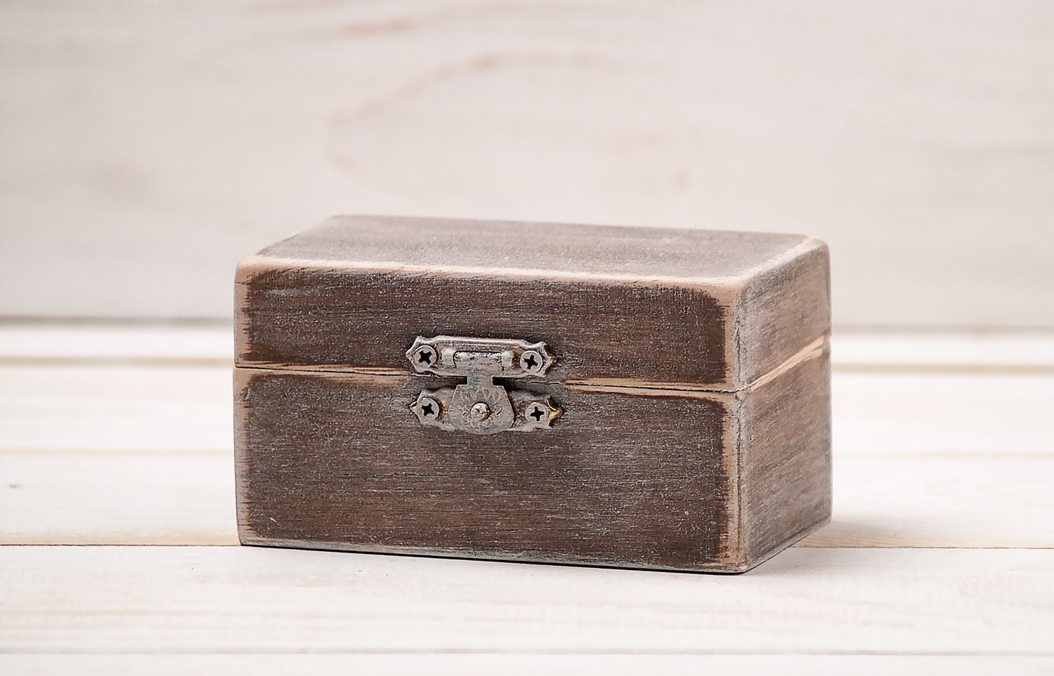 Personalized wedding wooden ring box by inesesweddinggallery for Custom made ring box