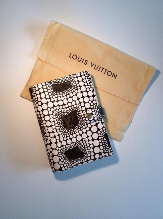 Louis Vuitton Agenda, Kusama Limited Edition, Louis Vuitton Diary, Louis Vuitton Limited, Kusama Limited Edition, Leather Agenda, LV