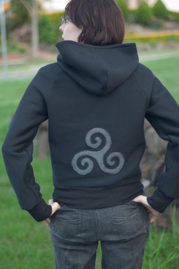 teen wolf inspired derek hale hoodie sweatshirt pullover. Black Bedroom Furniture Sets. Home Design Ideas