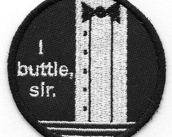 Clue - I Buttle, Sir patch