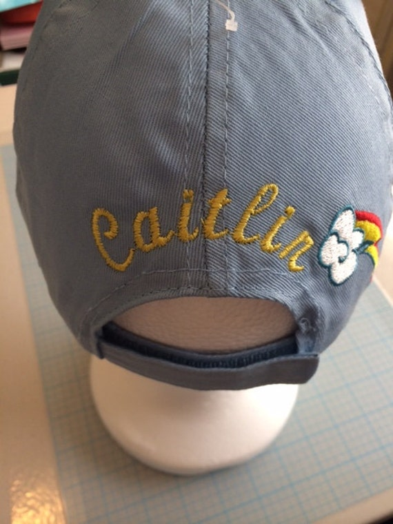 mlp my little pony baseball cap hat girls by cacbaskets on etsy
