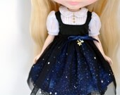Blythe Dress *Starry Starry Night