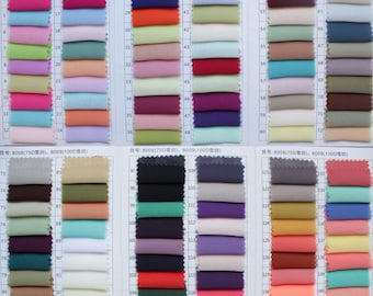 Chiffon Fabric Samples, Satin/Elastic Satin/Organza/Taffeta Fabric Samples