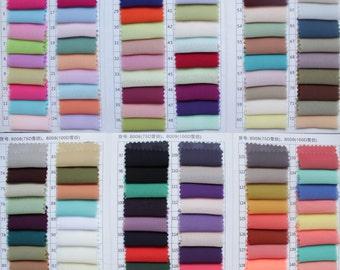 Chiffon Fabric Samples, Satin/Elastic Satin/Organza/Taffeta Fabric Samples