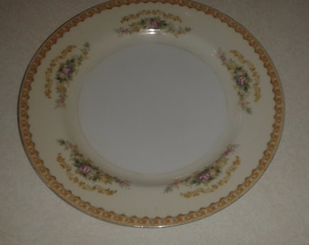 Jyoto China Salad Plate Made in Occupied Japan