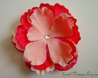 Large Flower Hair Clip - One Size - #191