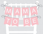 Pink Baby Shower Chair Ba...