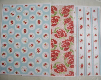 Wafer Paper edible prints  Set B - 3 A4 pages