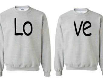 Love - Couple  Crewneck - Sweatshirt