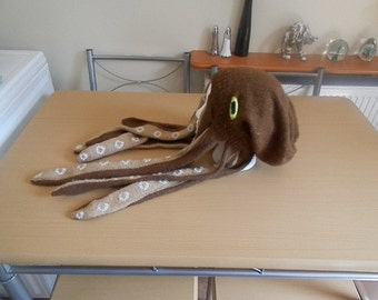 Knitted Octopus Hat