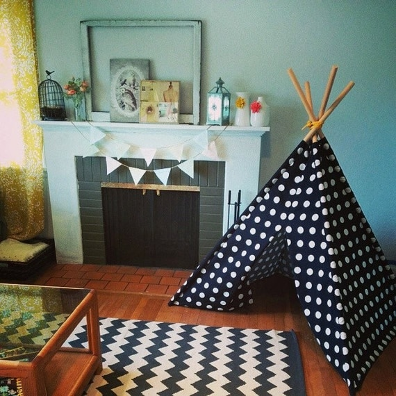 6ft toile tipi tipi loin de pli poteaux par wildonecreations etsy le fait main. Black Bedroom Furniture Sets. Home Design Ideas