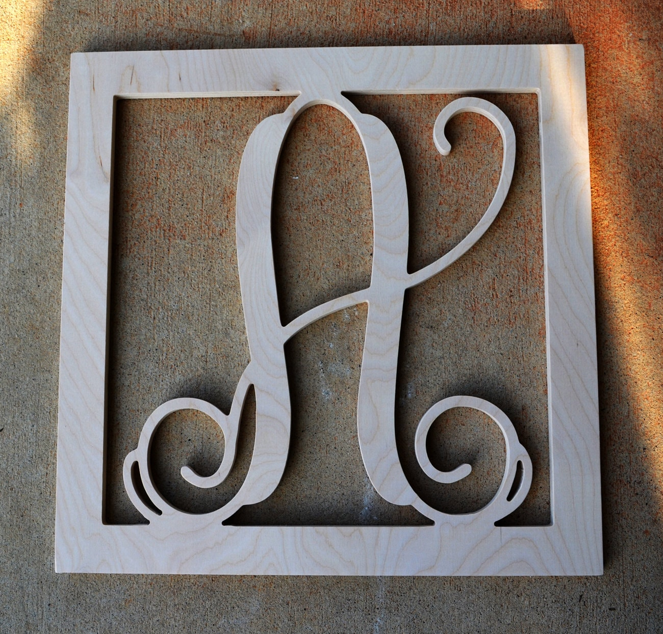 16 inch wooden monogram letters wooden initials w for 16 wooden letters