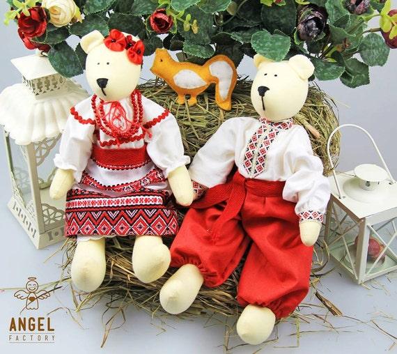 Ukrainian Kozak with wife