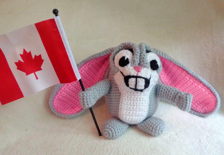 Amigurumi Bunny Pencil Holder : Crochet pattern only in handy helpers hamster