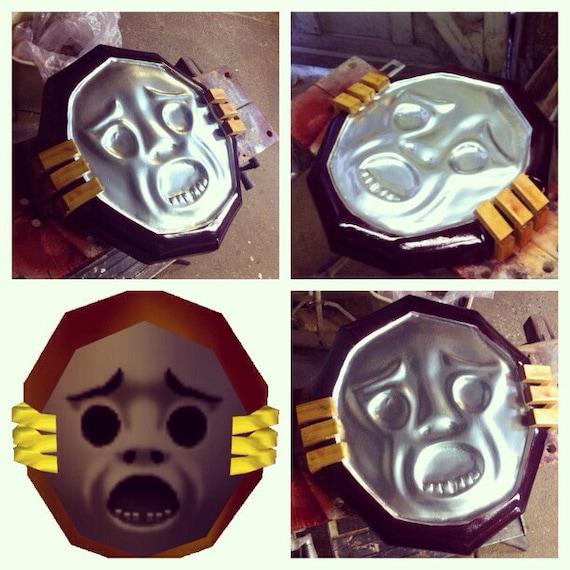 Mirror Shield: The Legeond of Zelda Majora's Mask cosplay replica prop