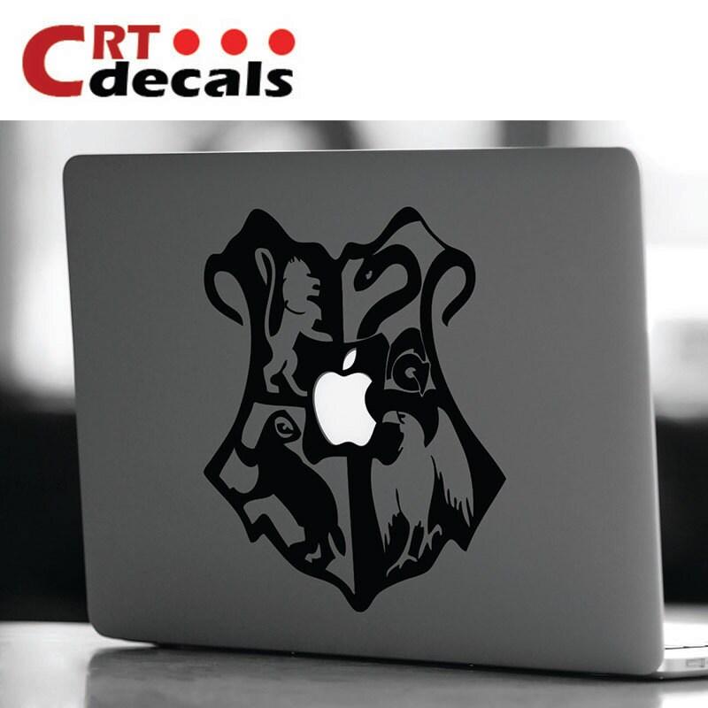 Hogwarts crest vinyl decal harry potter decal laptop decal - Hogwarts decal ...