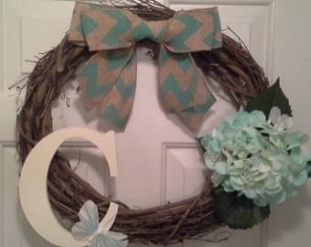 Grapevine Wreath,wreath, door decor,home decor,door hanging, wall hanging, wall decor,shabby chic wreath, decoration,gift, shabby chic decor