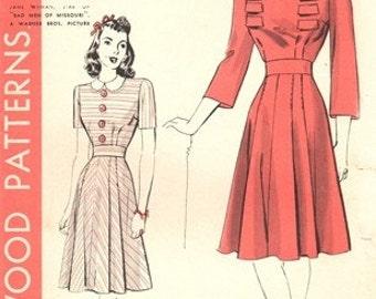 Hollywood 758 Work of Art Dress 1941 / SZ12 COMPLETE
