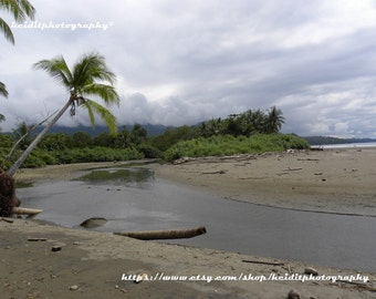Costa Rican Beach~ **Art**Paradise**Unedited**Wall Art* *Office Art**Photography**Print**  **Decor**Design**Photographic Art** *Costa Rica*
