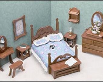 Greenleaf The Bedroom Minature Furniture Kit