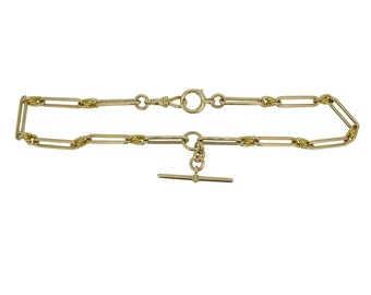 Antique Rose Gold Watch Chain