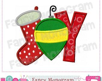 JOY applique,JOY design,Christmas design,Christmas applique,JOY,Christmas.