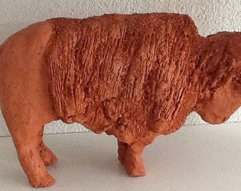 Bison red clay