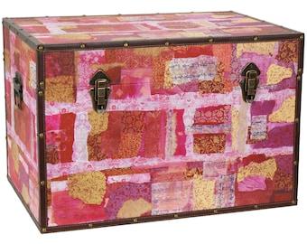 Collage Storage Trunk Avant-Garde