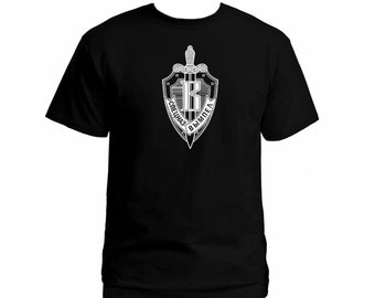 Soviet Russian special unit ops spetsnaz Vympel black color customized t-shirt