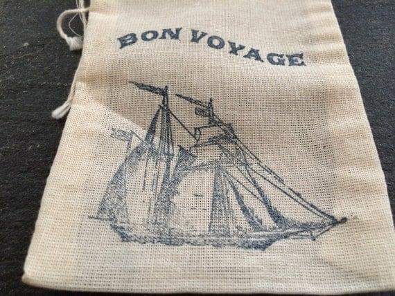 wedding favor bags cruise ship wedding favor bags bon voyage favor
