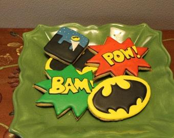 Batman cookies 12
