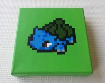 Bulbasaur bead pattern  Pokemon Perler Beads  Pinterest
