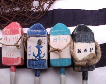 Nautical  Mini Buoy Magnets