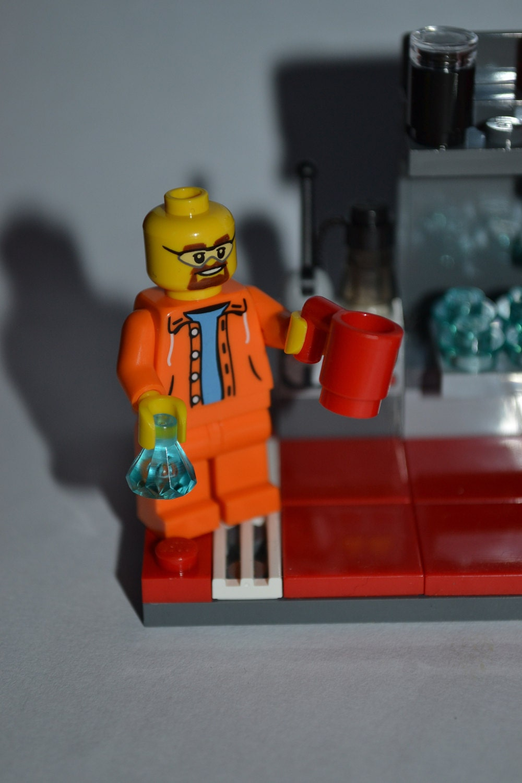 custom lego breaking bad mini lab scene with by harribricks. Black Bedroom Furniture Sets. Home Design Ideas