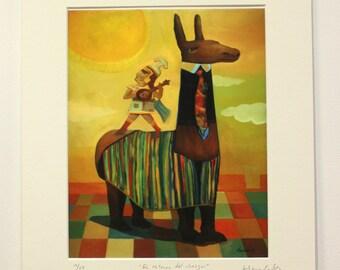 El retorno del chasqui -   Giclée fine art print - Limited edition
